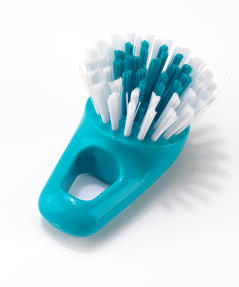 Beldray LA049056TURQ Kitchen Dish and Glass Cleaning Brush Set, Set of 3, Turquoise / White Thumbnail 5