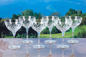 RCR 25284020006 Crystal Glassware Fluente Champagne Cocktail Glasses, Set of 6 Thumbnail 4