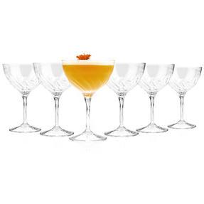RCR 25284020006 Crystal Glassware Fluente Champagne Cocktail Glasses, Set of 6 Thumbnail 4