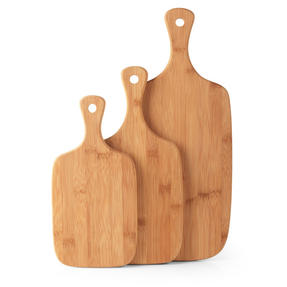 Salter BW06732 Bamboo Paddle Chopping Board Set Thumbnail 8