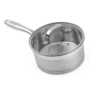 Salter Timeless Collection Stainless Steel Saucepan, 20 cm Thumbnail 7
