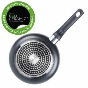 Russell Hobbs RH00077G Ceramic Non-Stick Frying Pan, Grey, 20 cm Thumbnail 3