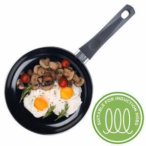 Russell Hobbs RH00077G Ceramic Non-Stick Frying Pan, Grey, 20 cm Thumbnail 4