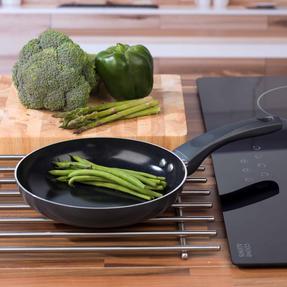 Russell Hobbs RH00077G Ceramic Non-Stick Frying Pan, Grey, 20 cm Thumbnail 6