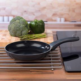 Russell Hobbs RH00077G Ceramic Non-Stick Frying Pan, Grey, 20 cm Thumbnail 7
