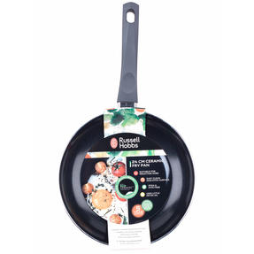 Russell Hobbs RH00078G Ceramic Non-Stick Frying Pan, Grey, 24 cm Thumbnail 12