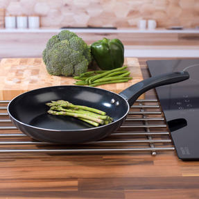 Russell Hobbs RH00078G Ceramic Non-Stick Frying Pan, Grey, 24 cm Thumbnail 5