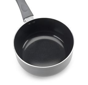 Russell Hobbs RH00093G 3 Piece Ceramic Saucepan Set, 16/18/20 cm, Grey Thumbnail 5
