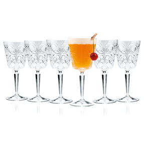 RCR 26637020006 Crystal Glassware Tattoo Wine Goblet Glasses, 29 CL / 290 ML, Set of 6 Thumbnail 5