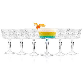 RCR 26638020006 Crystal Glassware Tattoo Champagne Goblet Glasses, 27 CL / 270 ML, Set of 6 Thumbnail 5