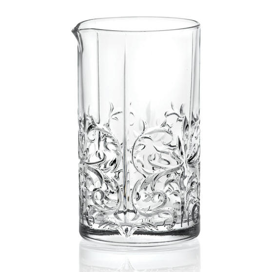 RCR 26525020006 Crystal Glassware Tattoo Cocktail Mixing Jug, 65 CL