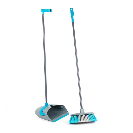 Beldray Beldray Long Handled Dustpan and Broom Thumbnail 1