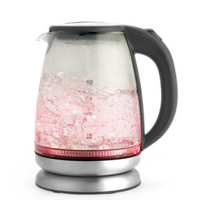 Salter EK2841SS Colour Changing Glass Kettle with LED Illumination, 1.7 Litre, 2200W Thumbnail 2