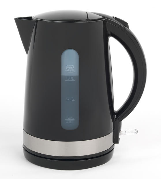 Salter EK2898 Deco Collection Kitchen 1.7 L Kettle, 3000 W, Black / Stainless Steel