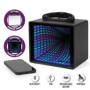 Intempo EE3253STKEU LED Infinity Light Mini Tunnel Speaker, 5 W Thumbnail 9