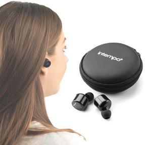 Intempo EE2558BLKSTK Wireless Bluetooth Earphones Thumbnail 5