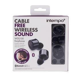 Intempo EE2558BLKSTK Wireless Bluetooth Earphones Thumbnail 7