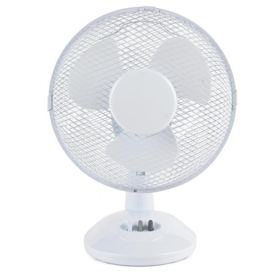 """Beldray EH2658STK Desk Fan, 9"""", White"""