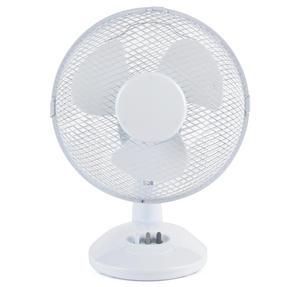 """Beldray EH2658STK Desk Fan, 9"""", White Thumbnail 1"""