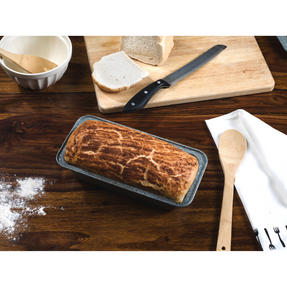 Salter Marble Collection Carbon Steel Roasting Tray, Loaf Tin and Round Baking Tray, 3 Piece Thumbnail 3
