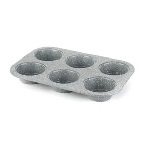 Salter Marble Collection Carbon Steel Non Stick Baking Muffin Tray and Springform Cake Pan Set, 2 Piece Thumbnail 5