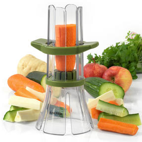 Salter Food Slicer and 4 in 1 Food Prep Set with Juicer, Grater, Herb Stripper and Egg Separator Thumbnail 2