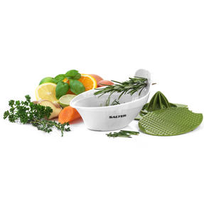 Salter Food Slicer and 4 in 1 Food Prep Set with Juicer, Grater, Herb Stripper and Egg Separator Thumbnail 3