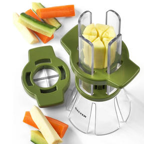 Salter Food Slicer and 4 in 1 Food Prep Set with Juicer, Grater, Herb Stripper and Egg Separator Thumbnail 4