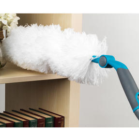 Beldray Mix and Match Click and Connect Cleaning Set with Microfiber Mop and Duster Heads Thumbnail 5