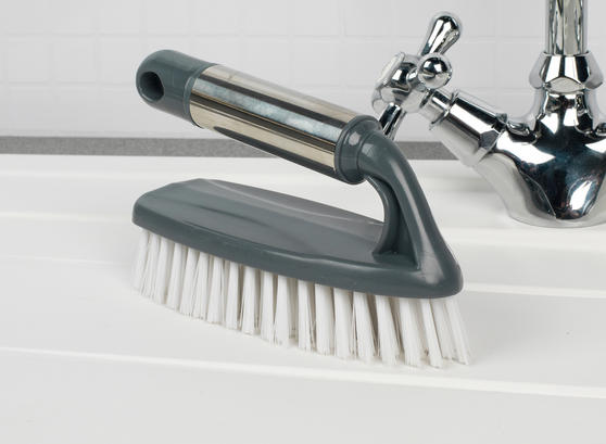 Beldray Cleaning Brush Set with Scourer, Dish Brush, Bottle Brush and Scrub Brush Thumbnail 4