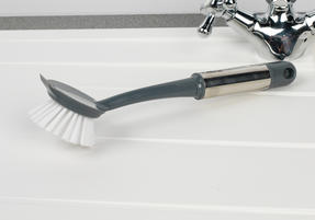 Beldray COMBO-2142 Kitchen Dish Brush with Scraper, Scrubbing Brush, Bottle Brush and Steel Brush Set, 4 Piece Thumbnail 5
