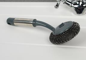 Beldray COMBO-2142 Kitchen Dish Brush with Scraper, Scrubbing Brush, Bottle Brush and Steel Brush Set, 4 Piece Thumbnail 6