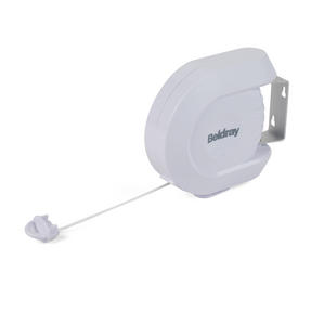 Beldray 12 Metre Retractable Clothes Line with 20 Soft Grip Pegs Pegs Thumbnail 2