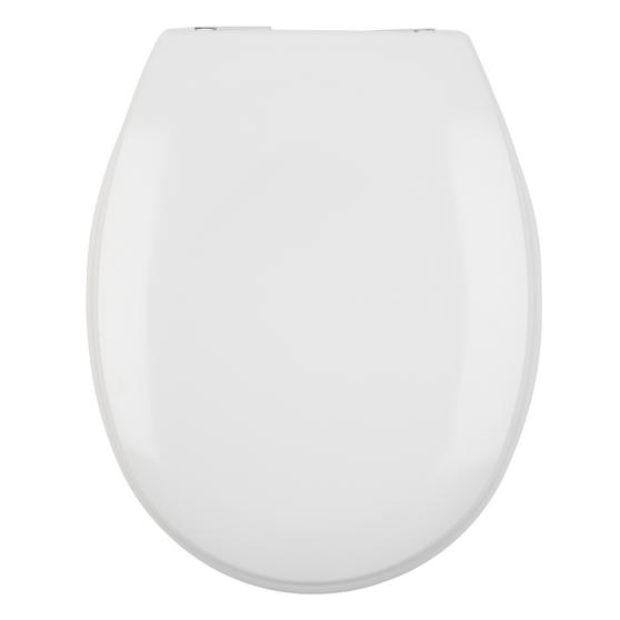 Beldray Duroplast Easy Fit Soft Close Toilet Seat, White Thumbnail 4
