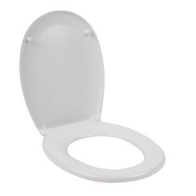Beldray LA030252 Duroplast Easy Fit Soft Close Toilet Seat, White Thumbnail 1
