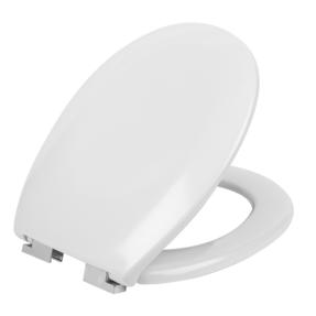 Beldray LA030252 Duroplast Easy Fit Soft Close Toilet Seat, White Thumbnail 3