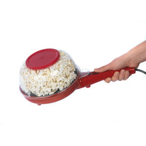 American Originals EK2349AR 2-in-1 Popcorn and Crepe Maker, Red Thumbnail 3