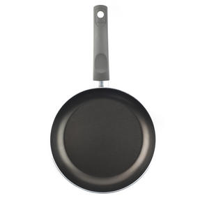 Domo 1406502 Cucina Italiana Deep Non-Stick Frying Pan, 24 cm, Black Thumbnail 2
