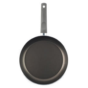 Domo 1406503 Cucina Italiana Deep Non-Stick Frying Pan, 28 cm, Black Thumbnail 2