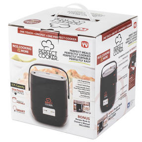 Perfect Cooker TPPFCKB3C One Touch Multi Cooker, Black