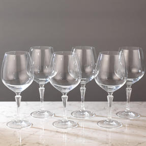 RCR 26315020006 Glamour Burgundy Balloon Gin Glasses, Pack of 6 Thumbnail 7