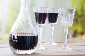 RCR 51522020006 Crystal Glassware Timeless Round Wine Decanter, 90 CL / 900 ML Thumbnail 3