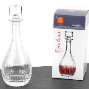 RCR 51522020006 Crystal Glassware Timeless Round Wine Decanter, 90 CL / 900 ML Thumbnail 6