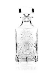 RCR 51530020006 Crystal Glassware Oasis Square Whisky / Wine Decanter, 85 CL / 850 ML Thumbnail 4