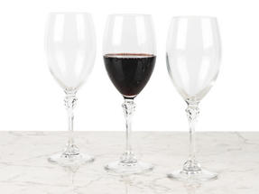 Luminarc L0927 Poetic 35 cl Wine Glasses, Pack of 3 Thumbnail 1