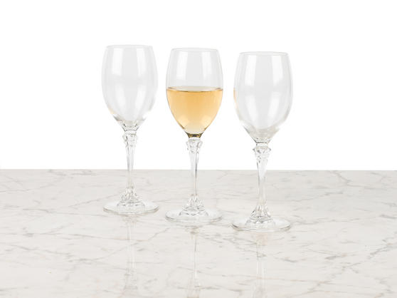 Luminarc L0940 Poetic 19 cl Wine Glasses, Pack of 3