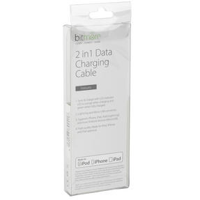 Bitmore BMMFIMUL1MB 2-in-1 Charger Suitable for iPhone, iPad, iPod, Samsung, Android, Sony, LG Phones and More Thumbnail 7