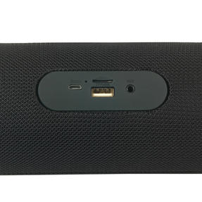 Intempo EE2679BLKSTKEU Large Fabric Bluetooth Party Speaker with Enhanced Bass, Black Thumbnail 6