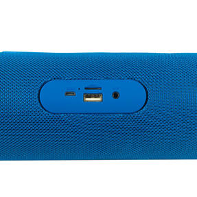 Intempo EE2679BLUSTKEU Large Fabric Bluetooth Party Speaker with Enhanced Bass, Blue Thumbnail 6