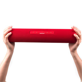 Intempo EE2679REDSTK Large Fabric Bluetooth Party Speaker with Enhanced Bass, Red Thumbnail 3